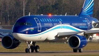 Airbus A319 CJ 4K-8888 * Azerbaijan Government * Take-Off at Bern