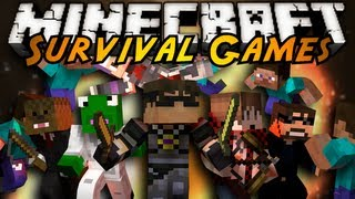 Minecraft : SURVIVAL GAMES 2!