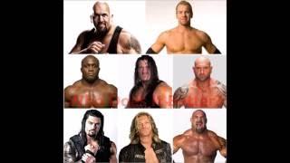 Spear: Big Show, Christian, Bobby Lashley, Rhyno, Batista, Roman Regins, Edge, Goldberg