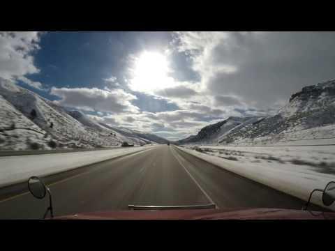 Zimowe Wiatry Wyomingu i Rozładunek w Nevadzie. Marzec 2017