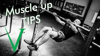 Bar Muscle-Up Tips - Knees Up (Invictus Gymnastics)