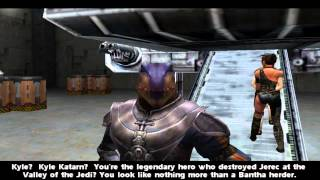 Star Wars Jedi Knight II: Jedi Outcast - Chapter 2 - Artus Prime & Desann (Cutscenes)