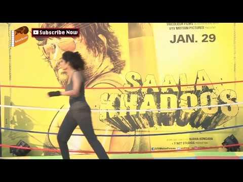 Xxx Mp4 Hot Ritika Singh At Promotion Of Film Saala Khadoos 3gp Sex