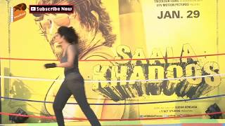 Hot Ritika Singh at Promotion of Film Saala Khadoos
