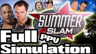 WWE SummerSlam 2013 Full PPV Simulation and History