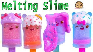Melting Slime ! Surprise Num Noms Melty Pops In Ice Cream Truck - New Toy Video