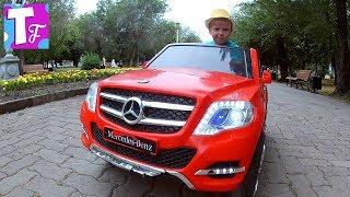 электромобиль детский мерседес джип Едим мороженое баскин роббинс