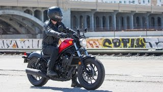 2017 Honda Rebel 500 Review | 4K