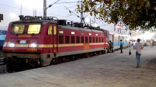 First Run of Shalimar-Visakhapatnam Weekly Express with LHB Coaches