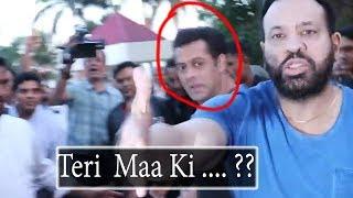When Salman khan bodyguard Shera Angry with Meida