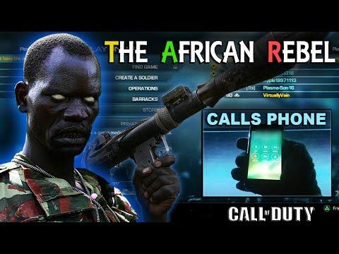 Xxx Mp4 African Rebel CALLS KIDS PHONE On COD 3gp Sex
