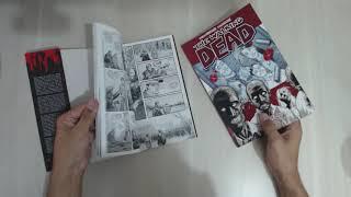 Comparação da HQ The Walking Dead Panini vs HQ Os mortos vivos HQM Editora