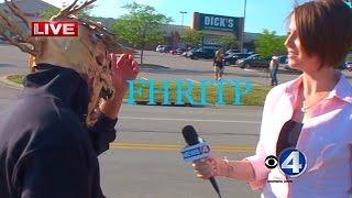 Man trolls morning show on LIVE-TV