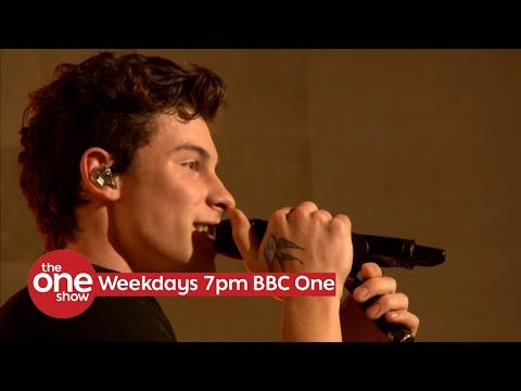 Shawn Mendes  - In My Blood (Live on The One Show on BBC One)
