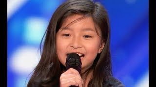 "9 Y.O Little Girl Shocks The Entire Stage with ""My Heart Will Go On"" 