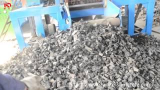 Whole Tire Shredder Machine and Tire Grinder Machine