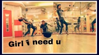 Girl I Need You Song | BAAGHI |dance by addy