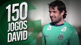 David ultrapassa a marca de 150 jogos pelo Goiás EC