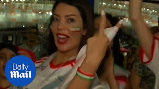 Iranian women full of pride for their team despite World Cup exit - Daily Mail