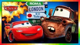 Cars Toon - FRANÇAIS - Les bagnoles animées - Car Toons - Tall Tales Mater - the cars part 1 (Game)