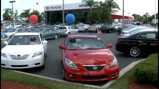 Toyota Dealer Central Florida - A Great Experience