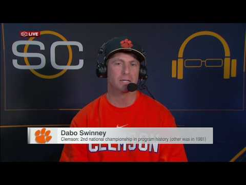 Championship a special moment for Swinney Clemson
