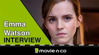 "Emma Watson: ""It was so fun to get to sing in"
