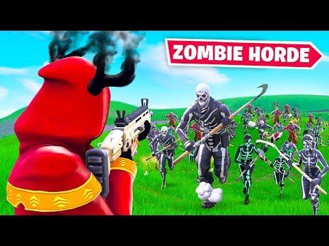 ZOMBIE HORDE NEW Fortnite Custom Gamemode
