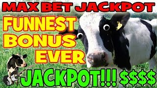 AMAZING SLOT JACKPOT!!!!! ★ MOST EXCITING BONUS EVER!!! ★ MAX BET HUGE WIN