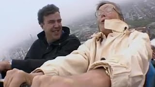 Jeremy Clarkson and his mother on a rollercoaster ride! - BBC
