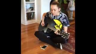 Miley Cyrus singing Miss You So Much to her grandmother Loretta Finley