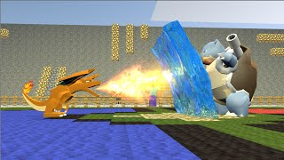 Monster School: Girls vs Boys Best Of Pokemon GO Challenge in Minecraft