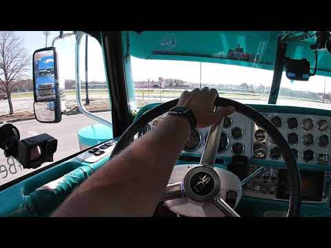 How to shift an 18 speed trans. in my custom Peterbilt with straight pipes.