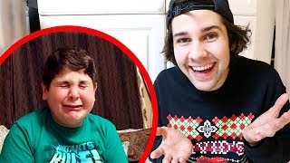 SURPRISE MADE LITTLE BROTHER CRY!!