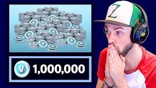 1,000,000 V BUCKS drop in Fortnite!