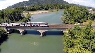 Trains From The Air - originalsound - Züge aus der Luft rund um den Bözberg und Brugg