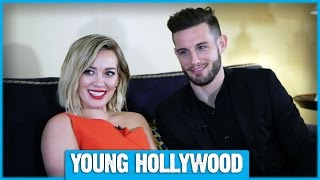 Hilary Duff & Nico Tortorella Talk YOUNGER and Tattoos