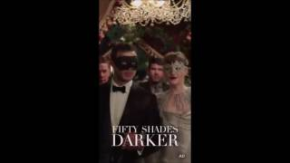 Fifty Shades Darker - Snapchat Promos
