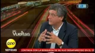 Debate Juan Sheput con Javier Diez Canseco en Sin Vueltas  RPP