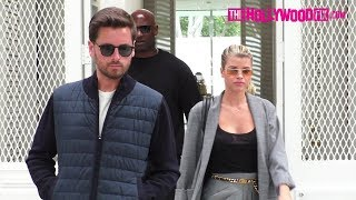 Scott Disick & Sofia Richie Flex Hard In Their New Rolls-Royce While Shopping On Melrose Place