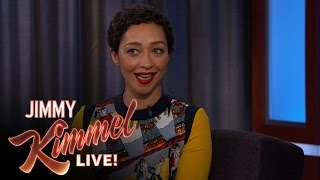 Ruth Negga on her Golden Globes Date