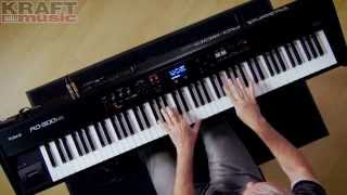 Kraft Music - Roland RD-300NX Stage Piano Performance With Scott Tibbs
