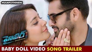 Hyper Telugu Movie Songs | Baby Doll Video Song Trailer | Ram Pothineni | Raashi Khanna | Ghibran