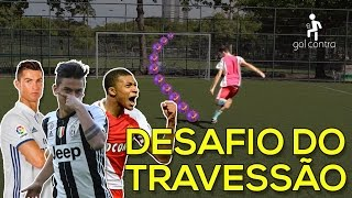 REAL X JUVE X MÔNACO | Desafio do Travessão