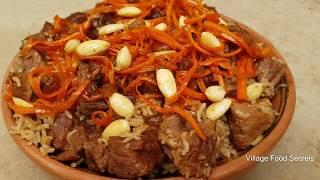 Afghani Pulao Recipe   Kabuli Pulao Recipe by Mubashir Saddique   Village Food Secrets