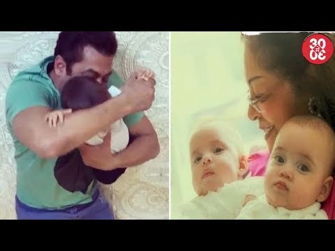 Xxx Mp4 Salman's Masti Time With His Nephew Ahil Karan Shares First Picture Of His Twins Yash Roohi 3gp Sex