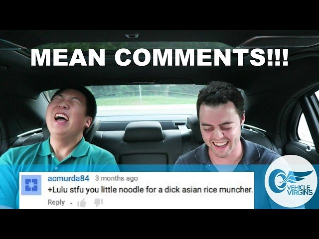 Reading Mean Youtube Comments!