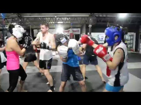Boxing Dance Floor