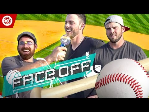 Dude Perfect VS. Kris Bryant & Mike Moustakas Home Run Derby FACEOFF