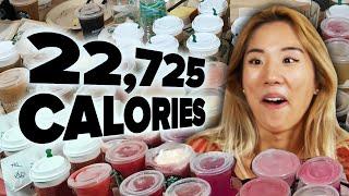 We Ordered The Entire Starbucks Menu (22,725 Calories)